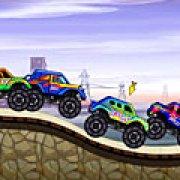 Игра Игра Гонки монстров-грузовиков