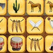 Игра Игра Мистический маджонг индейцев
