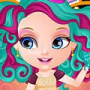 Игра Игра Малышка Барби Эвер Афтер Хай костюмы