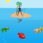 Игра Игра Супер Кот на рыбалке