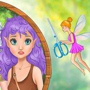 Игра Игра Парикмахерская Принцесс Диснея в волшебном лесу