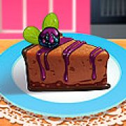 Игра Игра Кухня Сары шоколадный чизкейк с ежевикой