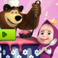 Игра Игра Маша и Медведь готовят еду