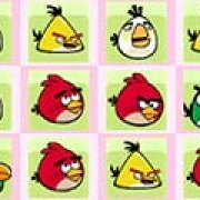 Игра Игра Angry birds: найди совпадения