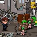 Игра Игра Одинокий Пистолет: Зомби на Улице