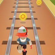 Игра Игра Subway Surfers бегалка
