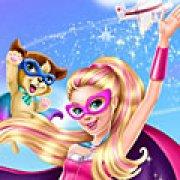 Игра Игра Супер Барби спасает город