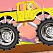 Игра Игра Губка Боб: безумие монстра-грузовика