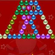 Игра Игра Стрельба пузырями: рождественское издание
