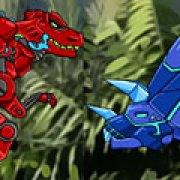Игра Игра Роботы динозавры драки