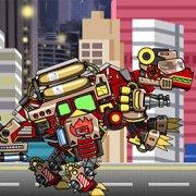 Игра Игра Роботы динозавры: собирать спинозавра