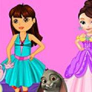 Игра Игра Даша и София: модные соперники