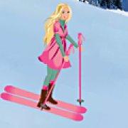 Игра Игра Барби на лыжах