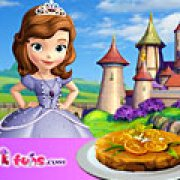 Игра Игра София готовит апельсиновый торт