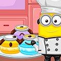 Игра Игра Миньоны: макароны десерт