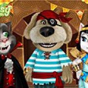 Игра Игра Том и Анжела одевалки Хэллоуин вечеринка