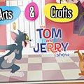 Игра Игра Раскраска Том и Джерри онлайн распечатать