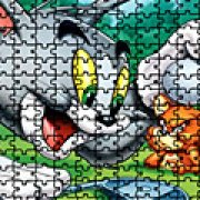 Игра Игра Том и Джерри 3Д пазлы