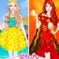 Игра Игра Барби Принцесса Четырёх Элементов