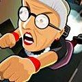 Игра Игра Злая бабушка: бросок