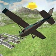 Игра Игра Симулятор Самолета 3Д 2020