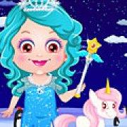Игра Игра Малышка Хейзел ледяная принцесса