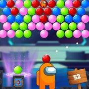Игра Игра Амонг Ас: Стрелок Пузырями