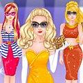 Игра Игра Супер Барби модель