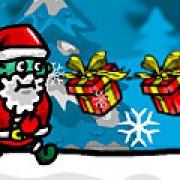 Игра Игра Новый год бег Деда Мороза