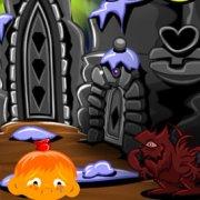 Игра Игра Счастливая обезьянка: Уровень 446 Викинг Ледяной Король Часть 2