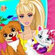 Игра Игра Барби заботится о питомцах