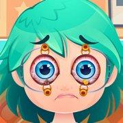 Игра Игра Забавное Лечение Глаз