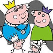 Игра Игра Свинка Пеппа семья раскраски