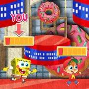 Игра Игра Никелодеон мультиплеер: бумажные драки