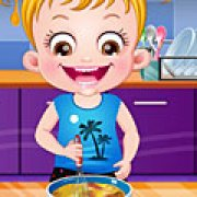 Игра Игра Малышка Хейзел время готовки
