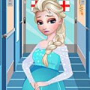 Игра Игра Эльза рожает малыша