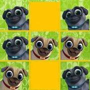 Игра Игра Дружные мопсы крестики-нолики