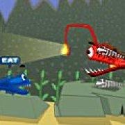 Игра Игра Драка рыбы за еду
