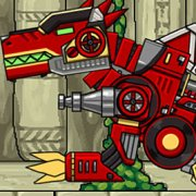 Игра Игра Приключения роботов динозавров: Спинозавр