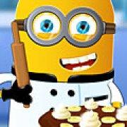 Игра Игра Миньон готовит банановый торт