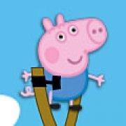 Игра Игра Свинка Пеппа: Джордж камикадзе