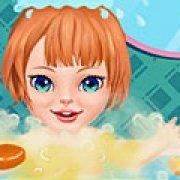 Игра Игра Уход за малышкой в ванной