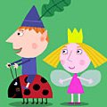 Игра Игра Маленькое королевство Бена и Холли: заклинание роста Плам