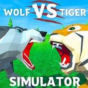 Игра Игра Волк против Тигра: Симулятор Дикие Животные 3Д
