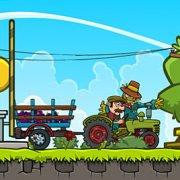 Игра Игра Доставка на тракторе