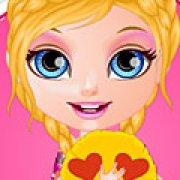 Игра Игра Малышка Барби подушки смайлики