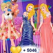 Игра Игра Выпускной принцесс Диснея: блондинки против брюнеток