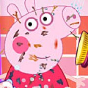 Игра Игра Грязная Свинка Пеппа