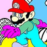 Игра Игра Раскраски Марио
