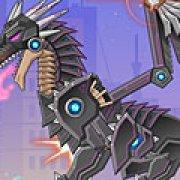 Игра Игра Собирать роботов: черный дракон